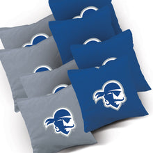 Load image into Gallery viewer, Seton Hall Stained Striped team logo bags