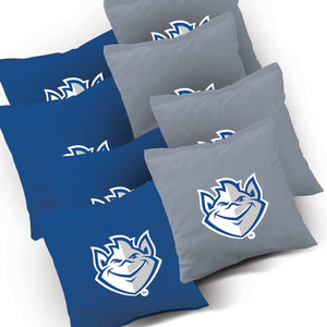St Louis Billikens Distressed team logo corn hole bags