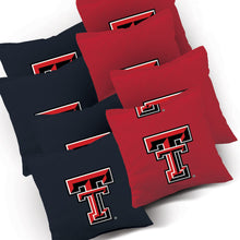 Load image into Gallery viewer, Texas Tech Red Raiders Striped team logo bags