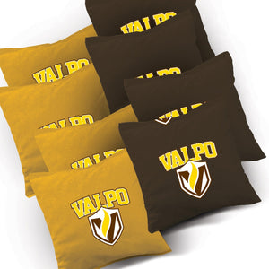 Valparaiso Stained Pyramid team logo bags