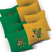 Load image into Gallery viewer, Vermont Catamounts Stripe team logo corn hole bags