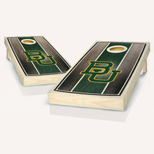 Load image into Gallery viewer, Baylor Bears Stained Striped Cornhole Boards