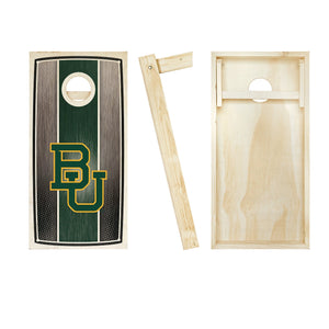 Baylor Bears Stained Striped board entire set