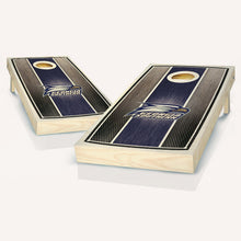 Load image into Gallery viewer, Georgia Southern Stained Striped Cornhole Boards