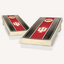 Load image into Gallery viewer, Indiana Hoosier Stained Stripe Cornhole Boards