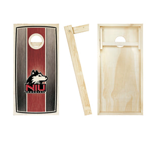 Northern Illinois Huskies Stained Stripe entire board picture