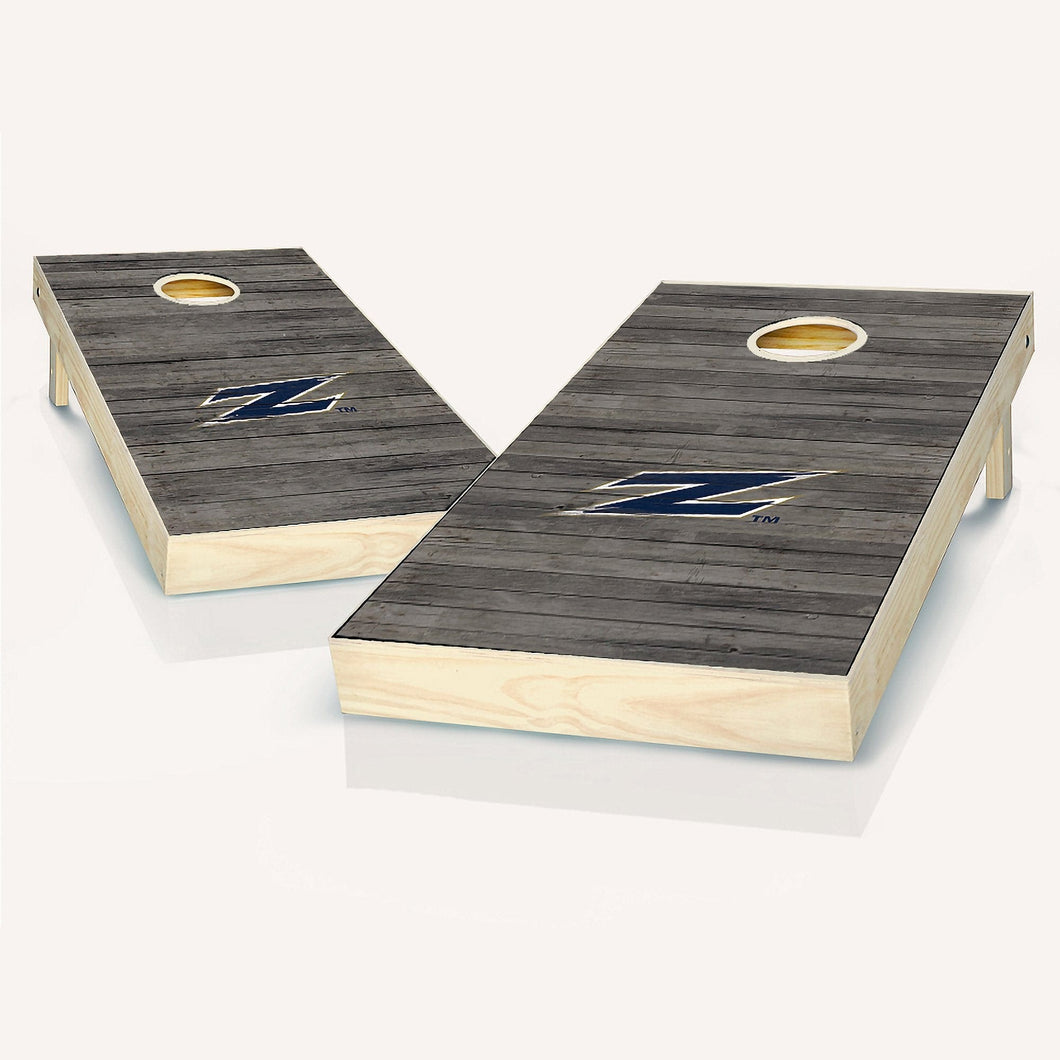 Akron Zips Distressed Cornhole Boards
