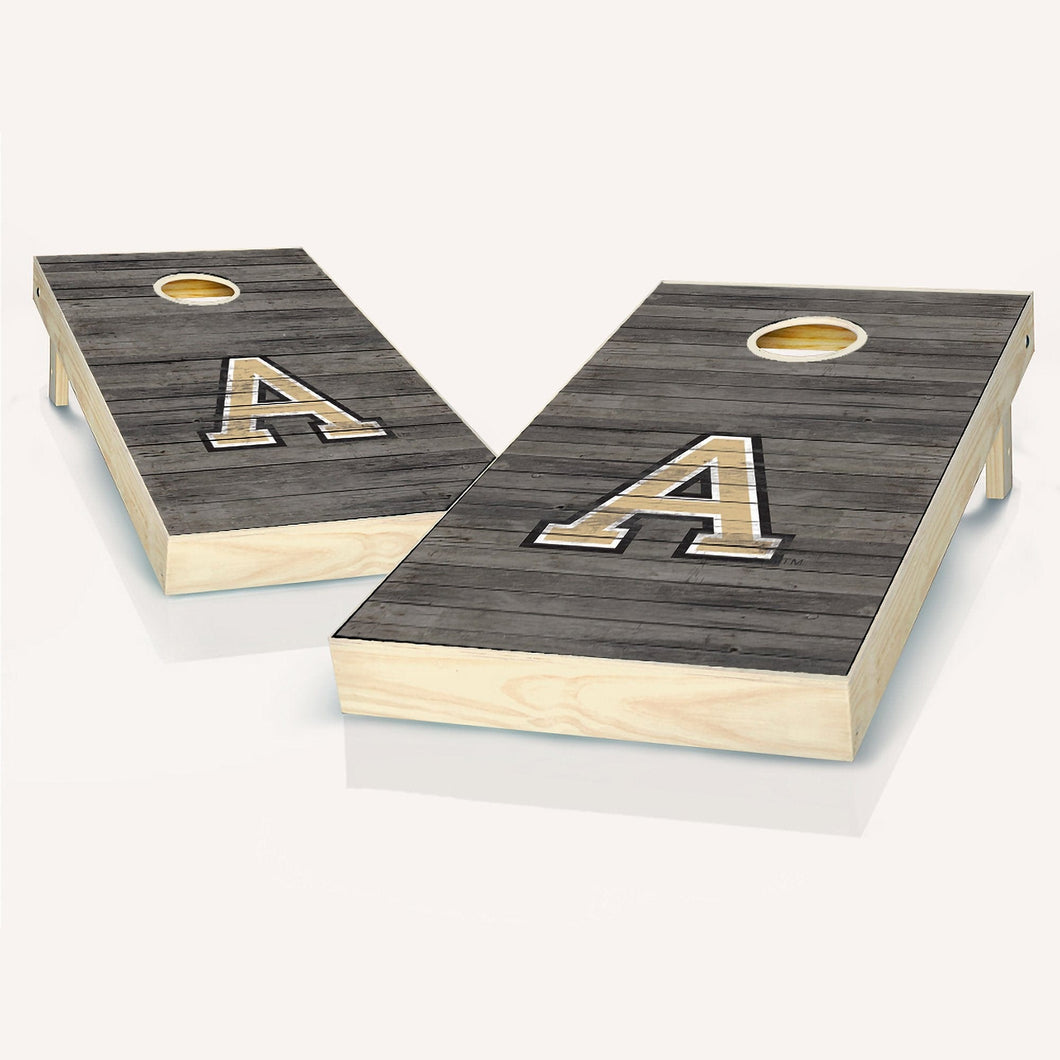 Army Black Knights Distressed Cornhole Boards