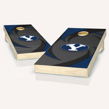 Load image into Gallery viewer, BYU Cougars Swoosh Cornhole Boards