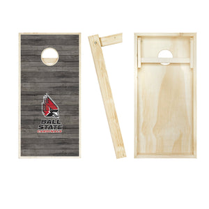 Ball State Cardinals Distressed board entire set