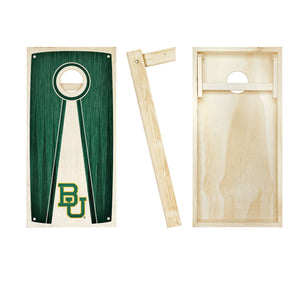 Baylor Bears Stained Pyramid board entire set