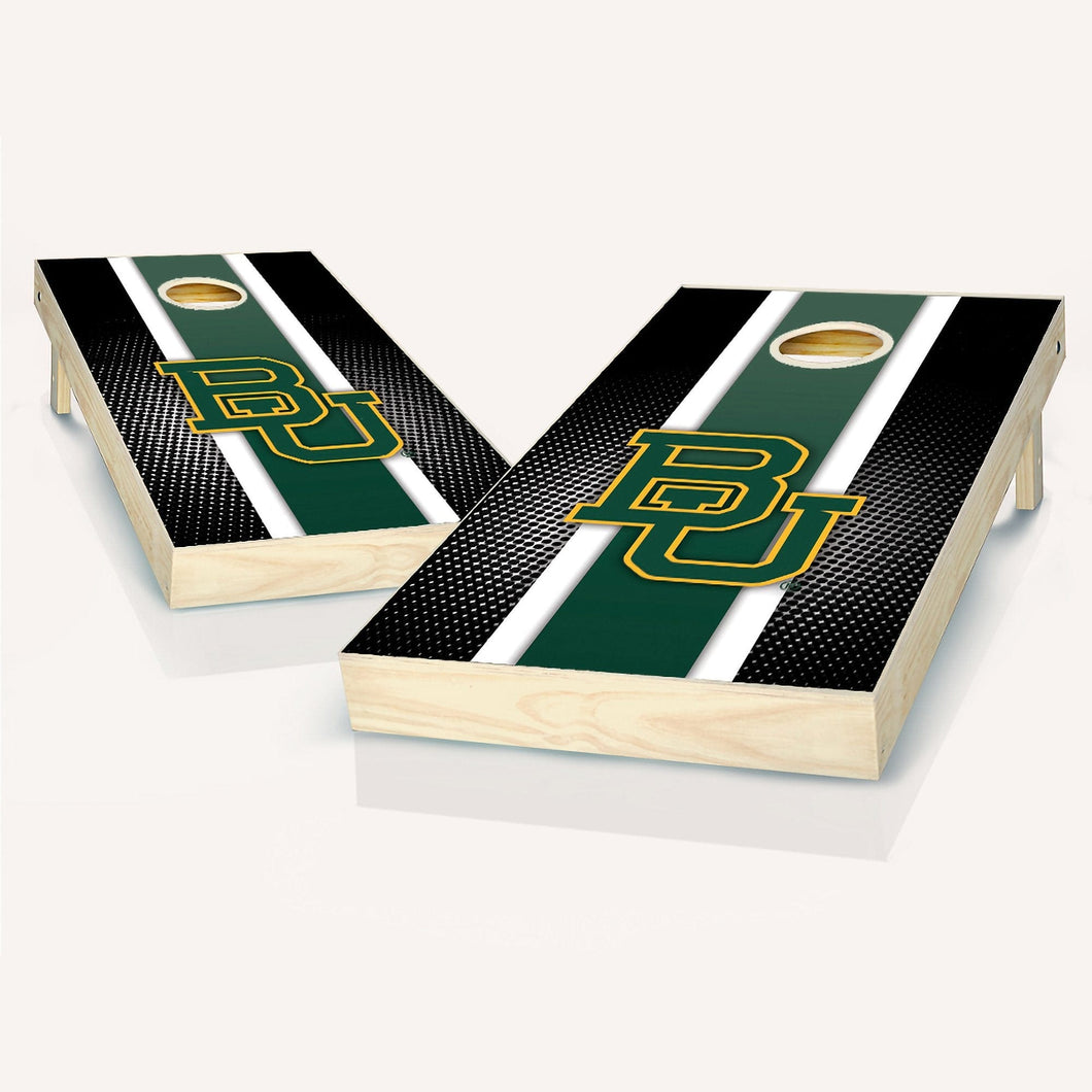 Baylor Bears Striped Cornhole Boards