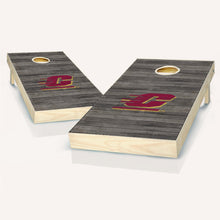 Load image into Gallery viewer, Central Michigan Chippewas Distressed Cornhole Boards