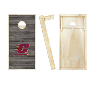 Central Michigan Chippewas Distressed board entire set