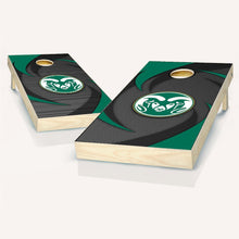 Load image into Gallery viewer, Colorado State Swoosh Cornhole Boards