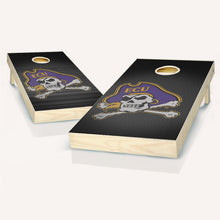Load image into Gallery viewer, East Carolina Pirates Slanted Cornhole Boards