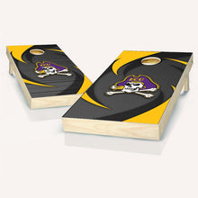 Load image into Gallery viewer, East Carolina Pirates Swoosh Cornhole Boards