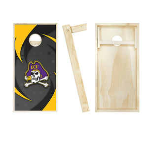 East Carolina Pirates Swoosh board entire set