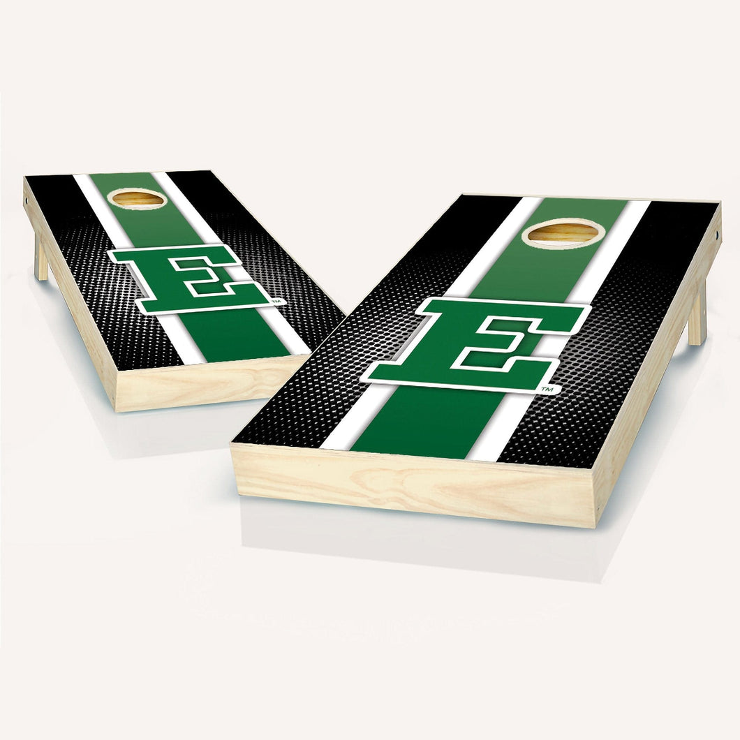 Eastern Michigan Eagles Stripe Cornhole Boards