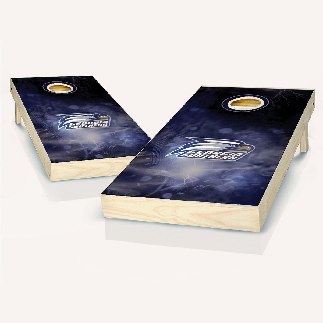 Georgia Southern Smoke Cornhole Boards