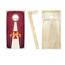 Load image into Gallery viewer, Iowa State Cyclones Stained Pyramid board entire set