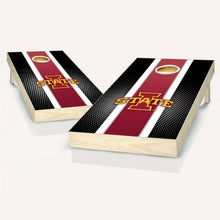 Load image into Gallery viewer, Iowa State Cyclones Striped Cornhole Boards