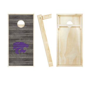 Kansas State Wildcats Distressed board entire set