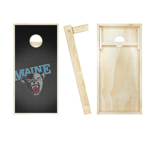 Maine Black Bears Slanted entire board picture