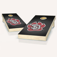 Load image into Gallery viewer, South Dakota Coyotes Slanted Cornhole Boards