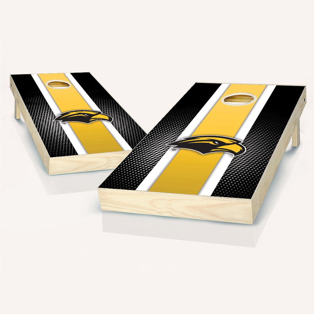 Southern Miss Golden Eagles Stripe Cornhole Boards