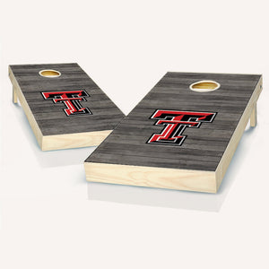 Texas Tech Red Raiders Distressed Cornhole Boards