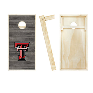 Texas Tech Red Raiders Distressed board entire set