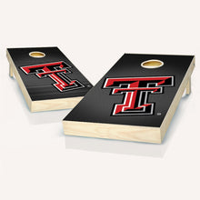 Load image into Gallery viewer, Texas Tech Red Raiders Slanted Cornhole Boards
