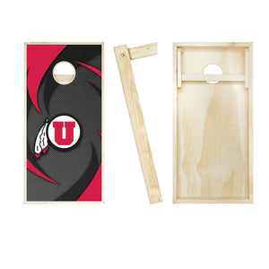 Utah Utes Swoosh board entire set