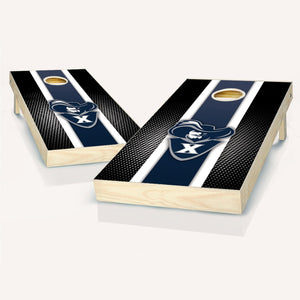 Xavier Musketeers Striped Cornhole Boards