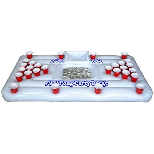inflatable beer pong cooler