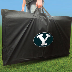 BYU Cougars Swoosh team logo carry case