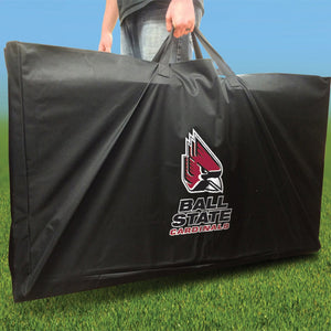 Ball State Cardinals Stained Striped team logo carry case