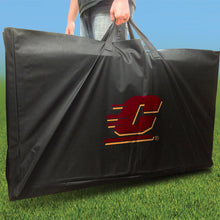 Load image into Gallery viewer, Central Michigan Chippewas Distressed team logo carry case