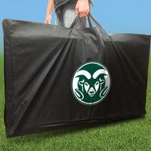 Load image into Gallery viewer, Colorado State Stained Striped team logo carry case