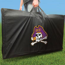 Load image into Gallery viewer, East Carolina Pirates Distressed team logo carry case