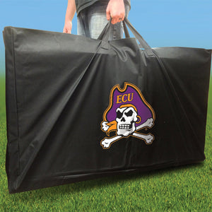 East Carolina Pirates Distressed team logo carry case