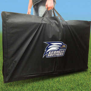 Georgia Southern Stained Pyramid team logo carry case