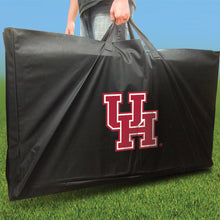 Load image into Gallery viewer, Houston Cougars Distressed team logo carry case