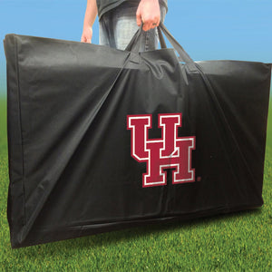 Houston Cougars Slanted team logo carry case