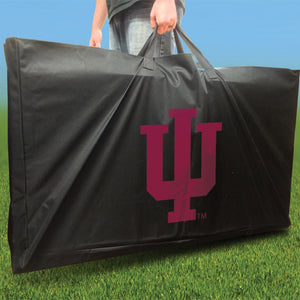Indiana Hoosier Swoosh team logo carrying case
