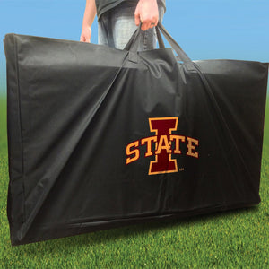 Iowa State Cyclones Stained Pyramid team logo carry case