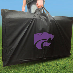 Kansas State Wildcats Distressed team logo carry case