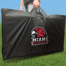 Load image into Gallery viewer, Miami Redhawks Stained Stripe team logo carrying case