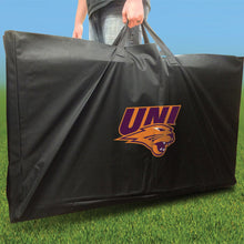 Load image into Gallery viewer, Northern Iowa Panthers Jersey team logo carrying case